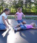 Jak zmierzyć matę do trampoliny